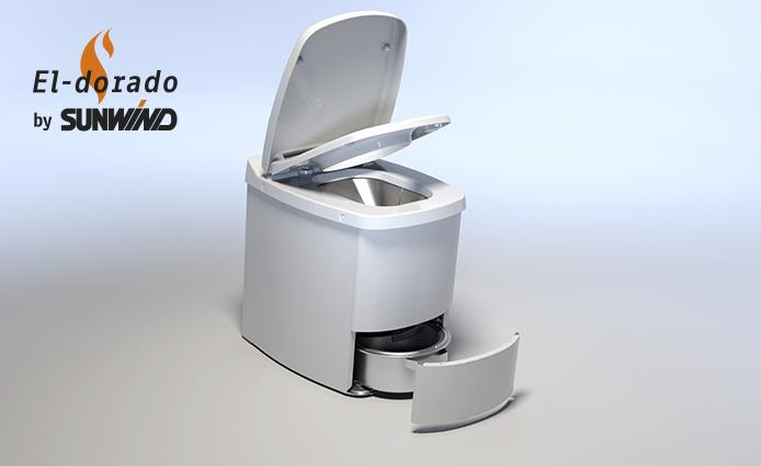 El-dorado toalett